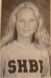 Taylor's 7th grade yearbook photo