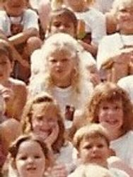 Taylor at summer camp 3 close up