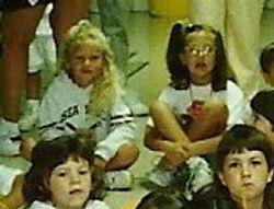 Taylor at summer camp close up