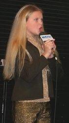 Taylor performing karaoke again