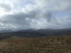 Towards Helvellyn Range