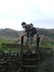 First stile of the day