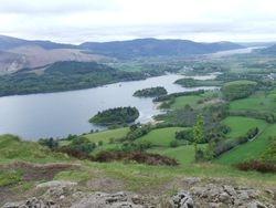 View from Walla Gragg