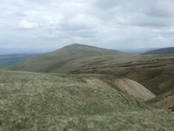 Looking back at Carrock Fell