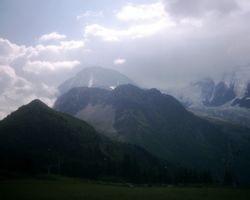 Towards Mont Blanc