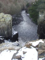River Tees from top of High Force