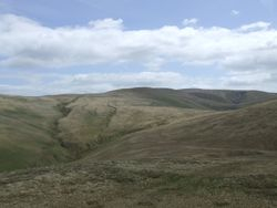 Probably towards Great Sca Fell