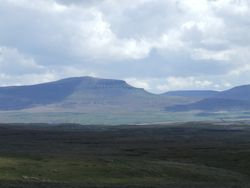 A view of Penyghent.