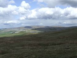 White Scar and Whernside in the distance