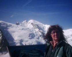 Mont Blanc again from AguilleDu Midi