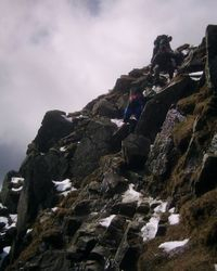 Coming down off Helvellyn 1