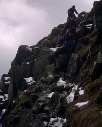 Coming down off Helvellyn 2