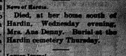 Mrs. Aus Denny