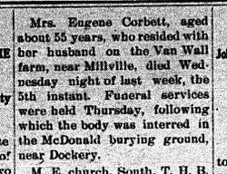 Mrs. Eugene Corbett