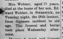 Webber Weber