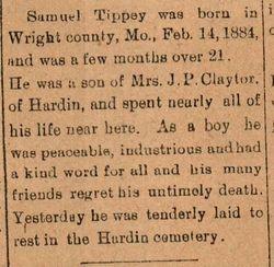 Samuel Tippey