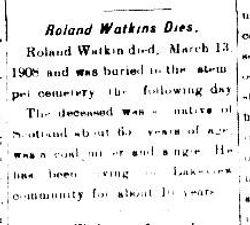 Roland Watkins