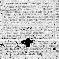 Nettie Clevenger Lamb