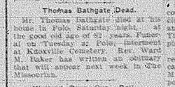 Thomas Bathgate