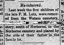 F. M. Lutz children
