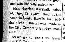 Harriet Marshall