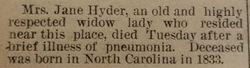 Jane Cook Hyder 2