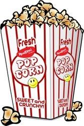 Popcorn Saturday logo