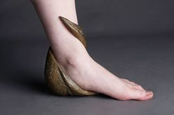 Worn Vessel: Foot
