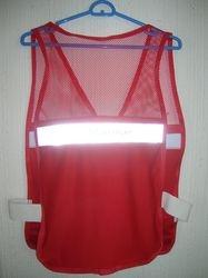 Chaleco para uniforme Rojo