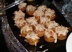 Stuffed piononos with Crabmeat
