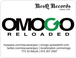 Resq records/Omogo Reloaded Flyer
