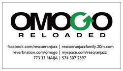 Omogo Reloaded Information Refridgirator Magnet