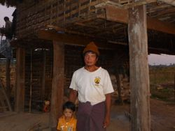 Kyaw Laing. A local farmer who claimed to know Pink-headed Duck.