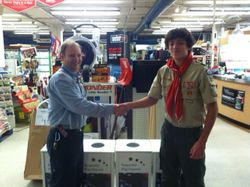 Boy Scout Flag Drop Boxes