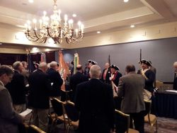 Presenting of Colors at General Session