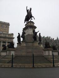 George Washington Equestrian Statue at Capitol Square