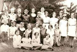 Orange Hall 1920's - W.P.S. Overcrowded