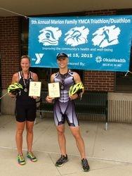 Overall YMCA's of Mid-Ohio Triathlon Series Winners