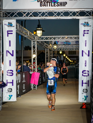 So Happy to cross the FINISH line with the baby