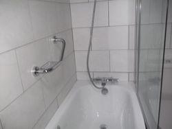 new bath & shower room