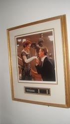 Titanic Movie Ltd Edition Framed Film Cell