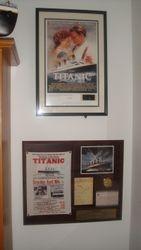 Titanic Movie Ltd Edition Framed Film Cell 2