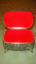 Silver Jewelry Box Prop