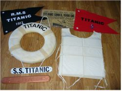 Life Vest, Life Ring, Lifeboat Plaque