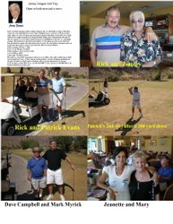Jimmy Zangari Golf Day, Oct. 7, 2008