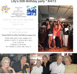 Lilly's 50th Birthday, page 1 of 2