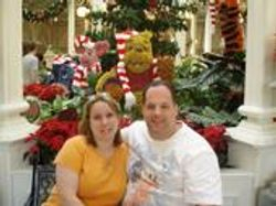 Lee my wife and me - disney world