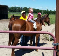 Kenna Starting our yearling young