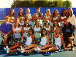 Varsity Tennis Team 2012-2013