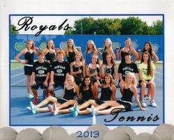 Varsity Tennis Team 2013-2014